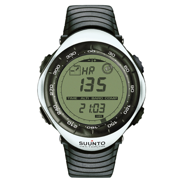 Купить Часы Suunto VECTOR HR WHITE