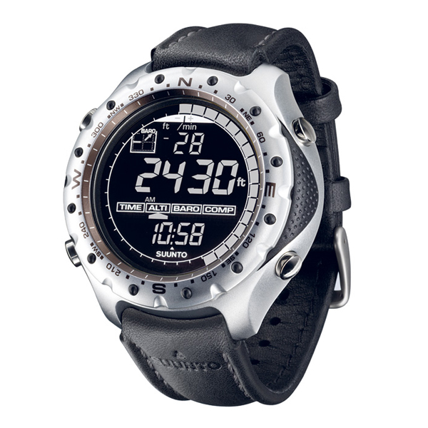 Купить Часы Suunto X-LANDER BLACK WITH LEATHER STRAP
