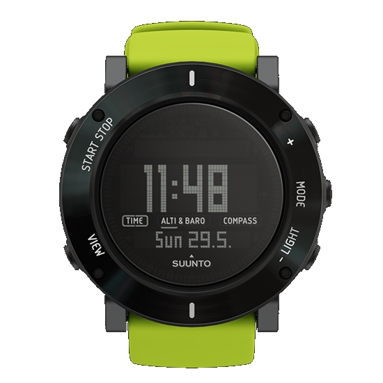Купить Часы Suunto CORE LIME CRUSH