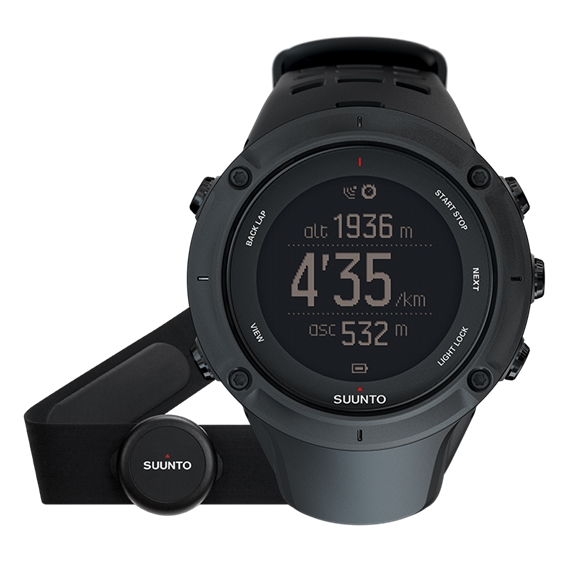 Купить Часы Suunto AMBIT3 PEAK BLACK (HR)
