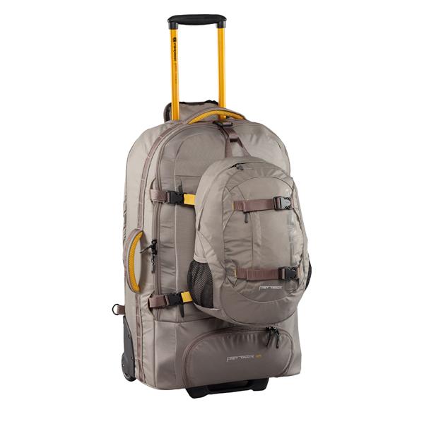 Рюкзак на колесах Caribee Fast Track 85 л черный 6906
