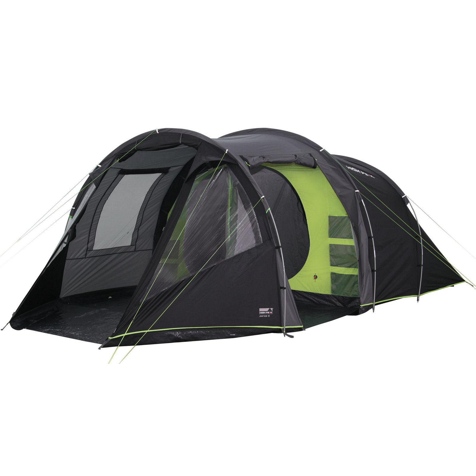Купить Палатка High Peak Paros 5 (Dark grey/Green)