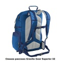 Рюкзак городской Granite Gear Superior 32 Flint/Chromium/Bluemine
