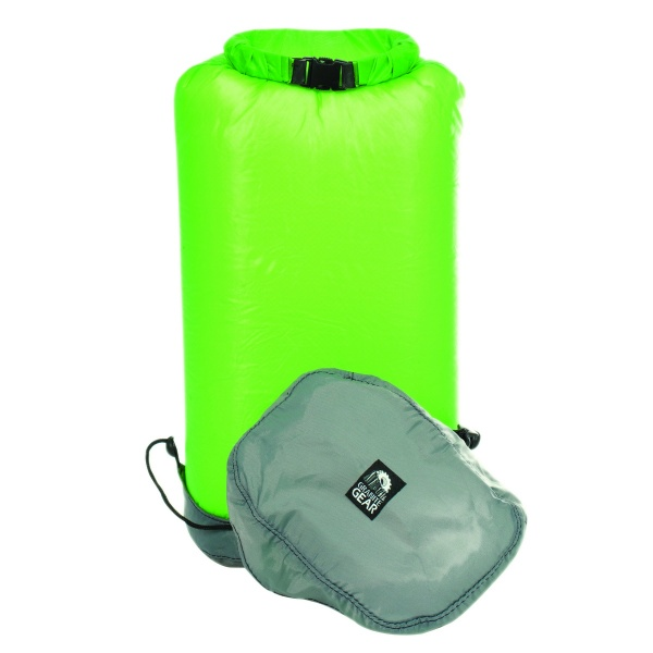 Купить Гермомешок Granite Gear eVent Sil Compression Drysac 10L Jasmine Green