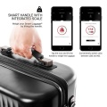 Чемодан Heys Smart Connected Luggage (L) Silver