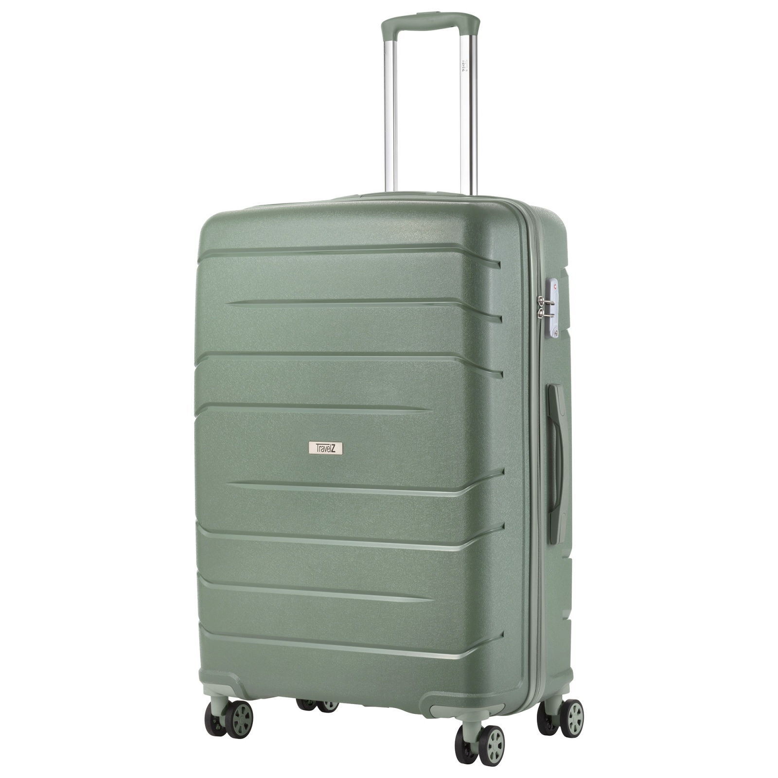 Купить Чемодан TravelZ Big Bars (L) Olive Green