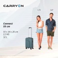 Чемодан CarryOn Connect (S) Dark Grey